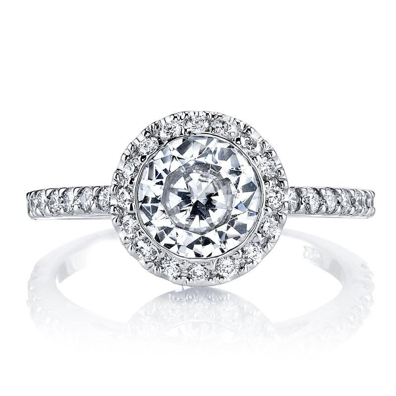 MARS Diamond Engagement Ring 0.34 Ctw.