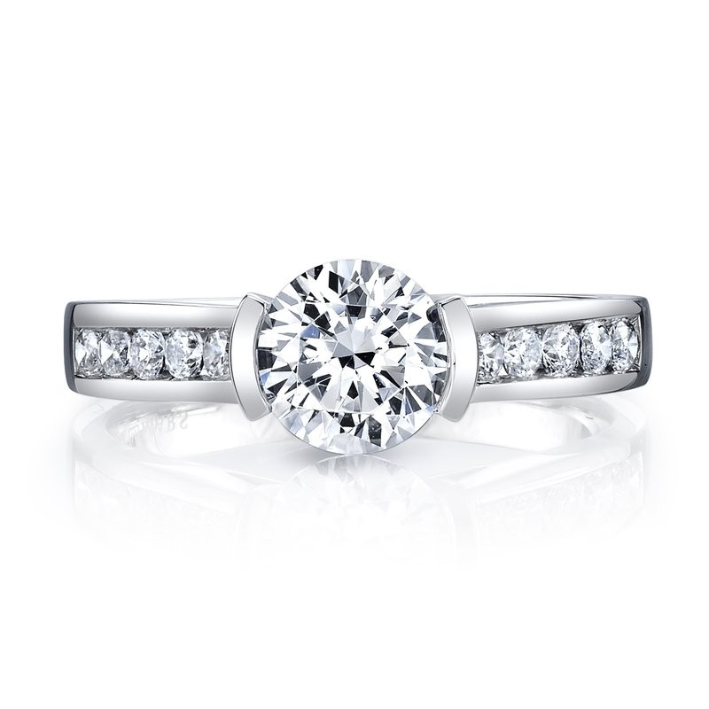 MARS Diamond Engagement Ring, 0.29 Ctw.