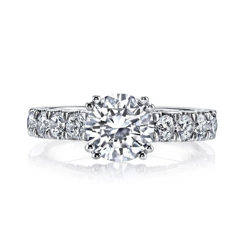 MARS 26253 Diamond Engagement Ring 1.15 Ctw.