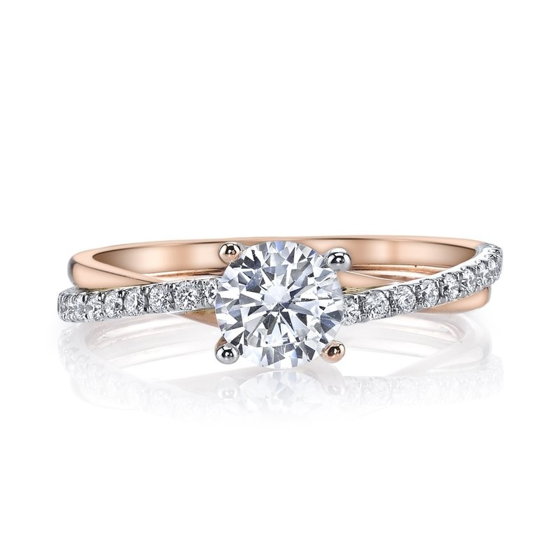 MARS Diamond Engagement Ring 0.17 Ctw.