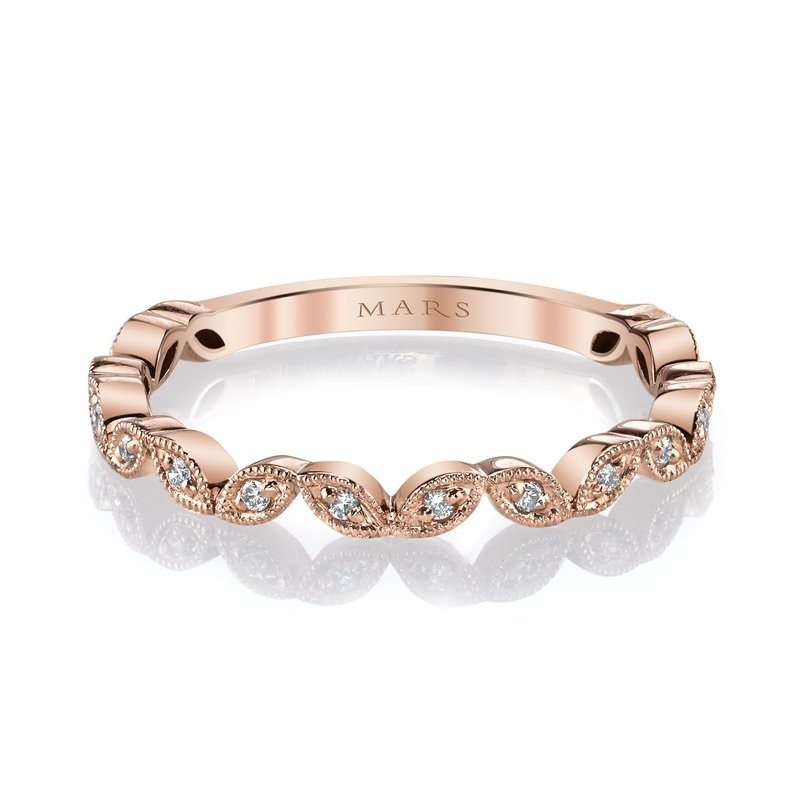 MARS Stackable Ring, 0.08 Ctw.