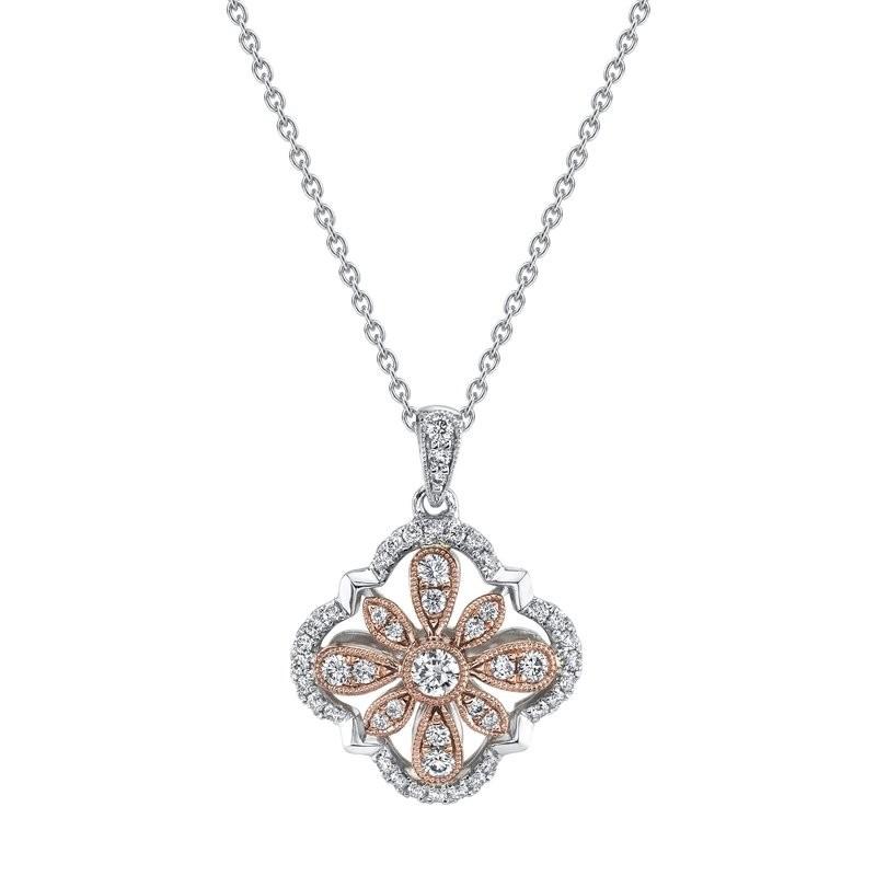 MARS Fashion Necklace, 0.40 Ctw.