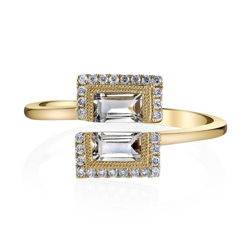 MARS Fashion Ring, 0.13 Dia. 0.83 G Ameth.