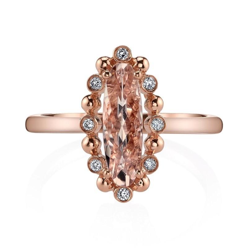 MARS Fashion Ring, 0.08 Dia. 1.30 Morgan.