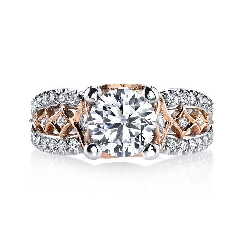 MARS Diamond Engagement Ring, 0.70 Ctw.