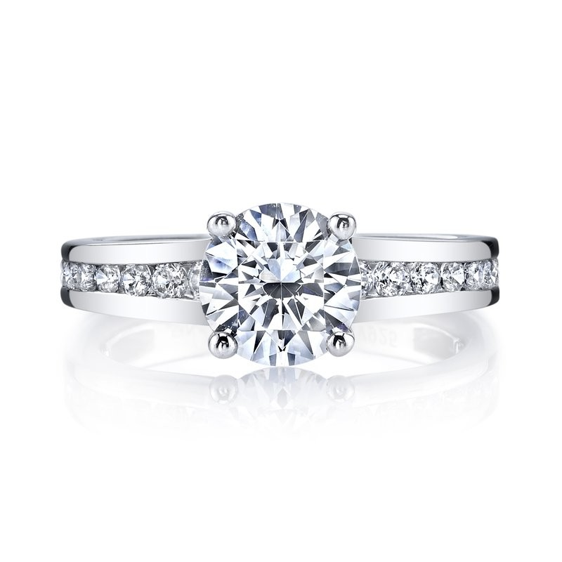 MARS Diamond Engagement Ring 0.60 Ctw.