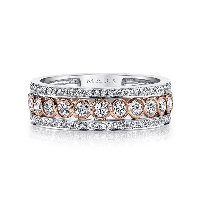 MARS Fashion Ring, 1.20 Ctw