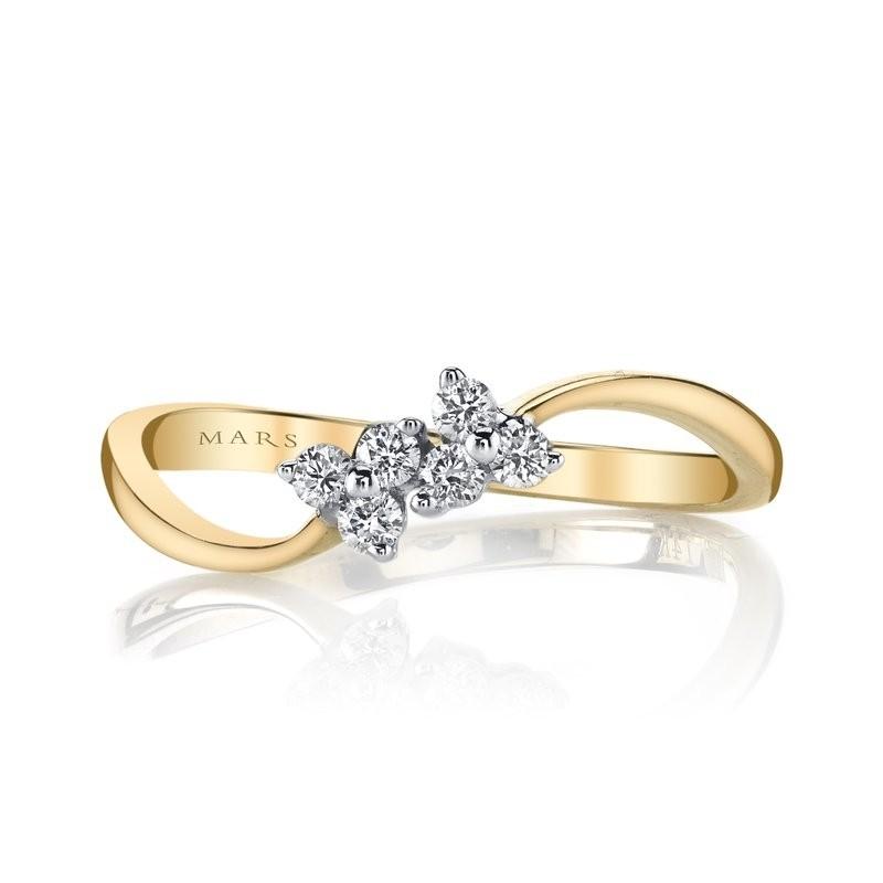 MARS Fashion Ring, 0.15 Ctw.