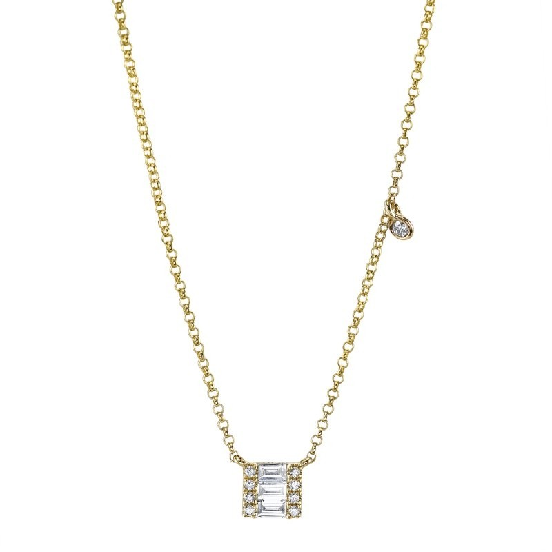 MARS Fashion Necklace, 0.17 Ctw.