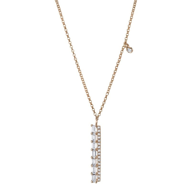 MARS Fashion Necklace, 0.09 Dia Rd. 0.21 Dia Bag.