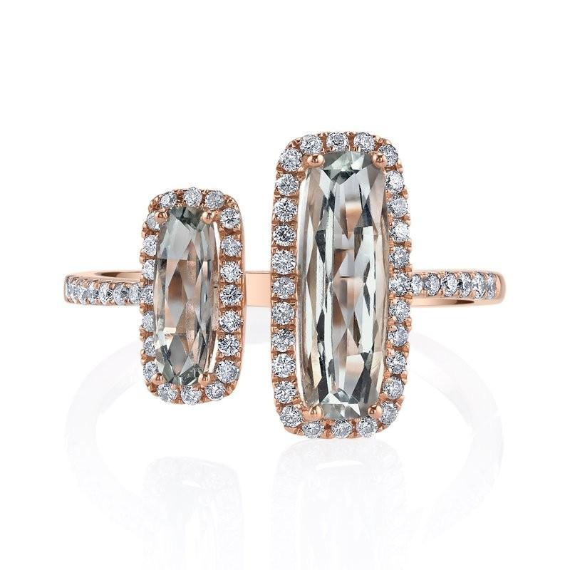 MARS Fashion Ring, 0.33 Dia. 1.62 G Ameth.