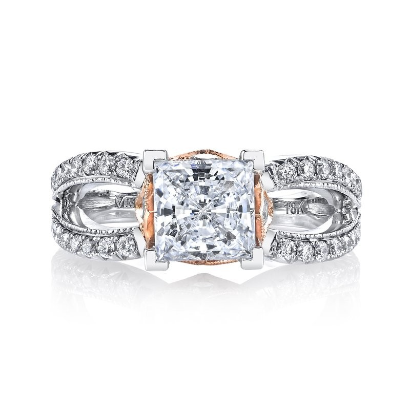 Diamond Engagement Ring, 0.70 Ctw.