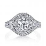 Diamond Engagement Ring 0.68 ct tw