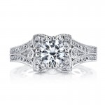 MARS Diamond Engagement Ring 0.50 Ctw.