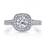 MARS Diamond Engagement Ring 0.82 ct tw