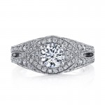 MARS Diamond Engagement Ring 0.95 Ctw