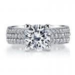MARS Diamond Engagement Ring, 1.37 ct tw