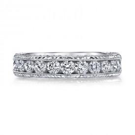 MARS 14144 Diamond Wedding Band, 0.75 Ctw