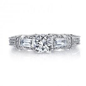MARS Diamond Engagement Ring 0.86 Ctw.
