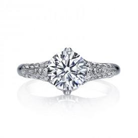 MARS Diamond Engagement Ring 0.40 Ctw.