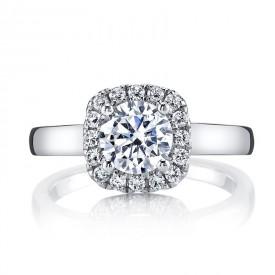 MARS Diamond Engagement Ring 0.24 Ctw.