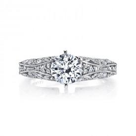 MARS Diamond Engagement Ring, 0.16 Ctw.