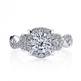 MARS Diamond Engagement Ring, 0.45 Ctw.