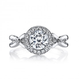 MARS Diamond Engagement Ring, 0.26 Ctw.