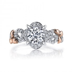 MARS Diamond Engagement Ring, 0.30 Ctw.