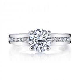 MARS Diamond Engagement Ring 0.60 Ctw.