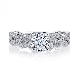 MARS Diamond Engagement Ring 0.40 Ctw.