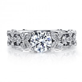 MARS Diamond Engagement Ring, 0.38 Ctw.