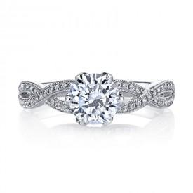 MARS Diamond Engagement Ring 0.21 ctw