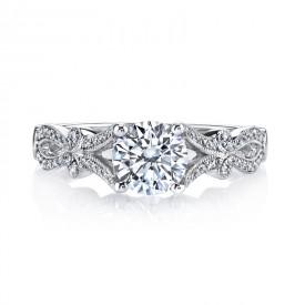 MARS Diamond Engagement Ring 0.20 Ctw.
