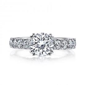 MARS Diamond Engagement Ring 1.15 Ctw.