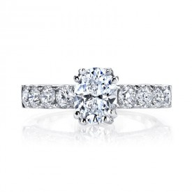 MARS Diamond Engagement Ring 1.27 Ctw.