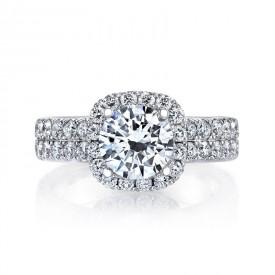 MARS Diamond Engagement Ring 1.70 Ctw.