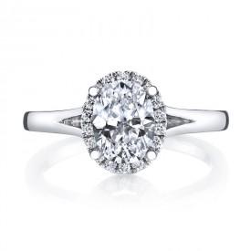 MARS Diamond Engagement Ring 0.13 Ctw.