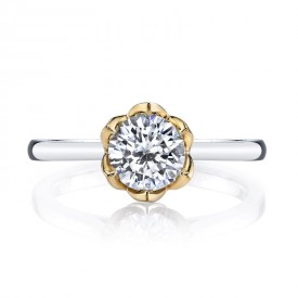 MARS Diamond Engagement Ring 0.02 Ctw.