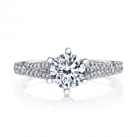 MARS Diamond Engagement Ring 0.24 Ctw.