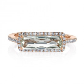 MARS Fashion Ring, 0.23 Dia. 1.35 G Ameth.