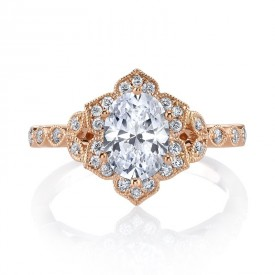 MARS Engagement Ring 0.23 Ctw