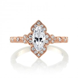 MARS Engagement Ring, 0.23 Ctw