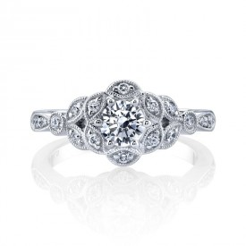MARS Diamond Engagement Ring, 0.25 Ctw