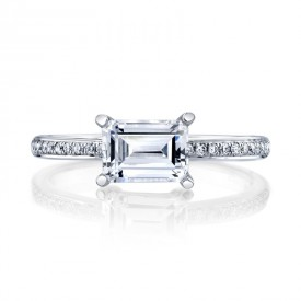 MARS Diamond Engagement Ring, 0.11 Ctw.