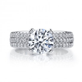MARS Diamond Engagement Ring, 1.25 Ctw.