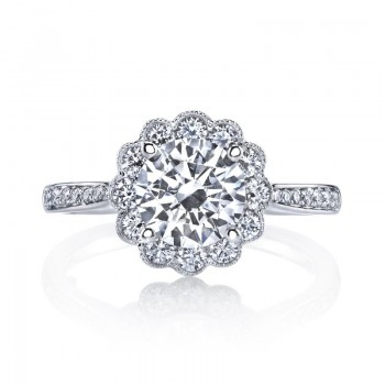 MARS Diamond Engagement Ring 0.60 ct tw
