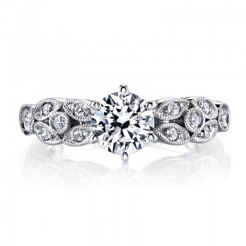 MARS Diamond Engagament Ring 0.21 Ctw.