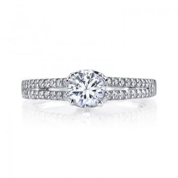 MARS Diamond Engagement Ring 0.25 Ctw.