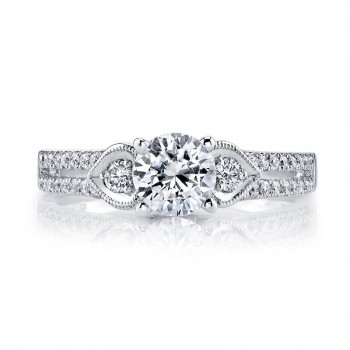 MARS Diamond Engagement Ring 0.29 ct tw